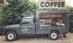 December's Coffee Shop of The Month Coffee Food Truck, Bicycle Cafe, Mobile Coffee Shop, Coffee Trailer, Coffee Shop Aesthetic, Coffee Van, Food Vans, Coffee Business, Food Truck Design