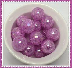 Chunky beads, chunky beads product, chunky beads supplies, chunky beads etsy, chunky beads DIY, chunky beads necklace supplies, chunky bead jewelry supplies, Bubblegum Beads Light Purple bubble gum 20mm by Urbancitysupplies