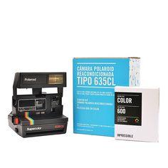 Vuelve a usar una cámara Polaroid 635 CL