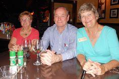 Gloria Grenier, Wally Erickson & Gayle Maxey at the May 2012 Sarasota Sister Cities Meet & Greet at Caraguilo's Restaurant in downtown Sarasota