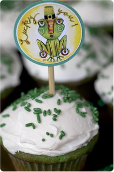 st paddy's day cupcake topper download