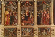 San Zeno Altarpiece by @artistmantegna #highrenaissance