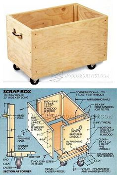Scrap Box Plans - Workshop Solutions Plans, Tips and Tricks | WoodArchivist.com