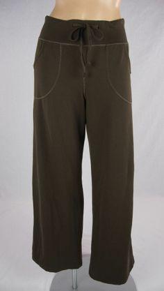 LULULEMON Brown Still Yoga Pants  Sz 6