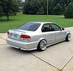 wuld luv if it was coupe Honda Crv, Honda Civic Coupe, Honda Civic Hatchback, Honda Civic 1998, Honda Sedan, Bobber, Tuning Honda, Bmx, Civic Car