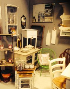 Brocante vintage furniture by DBM sales point Gaaf Beverwijk