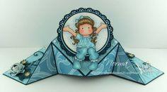 From My Craft Room: Diamond Fold Cards