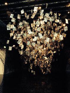 The new art gallery Walsall, Chiharu Shiota