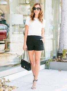 Three Tips to Make a Crop Top and Shorts Classy – Sydne Style
