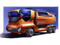 Truck Concept by Darko Markovic
