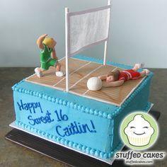 volleyball cakes | VolleyballCake-Main.jpg