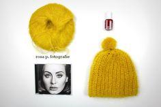 satt gelbe mütze