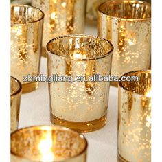 Gold Color Shining Glass Candle Holders - Buy Gold Color Shining Glass Candle Holders,Shining Glass Candle,Votive Candle Product on Alibaba....