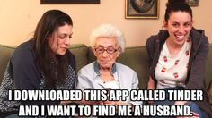 They were hopeful that Guru Bubbie would find her granddaughters true love and give us some useful tips on the dos and don'ts of dating. | This Grandma Just Gave All Of Us The Best Advice For Dating On Tinder
