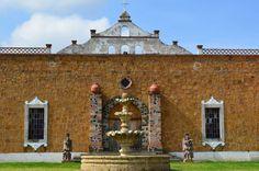 La Hacienda la Laguna en Tlaxcala representa un estilo colonial. #ViajesPalacio http://soy.ph/TlaxcalaViaje