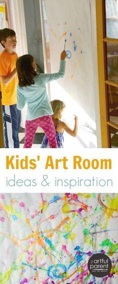 Kids Art Room Ideas and Inspiration