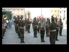 """La """"Marcia dei Coscritti Piemontesi"""" con la Fanfara della Brigata Alpina..."""