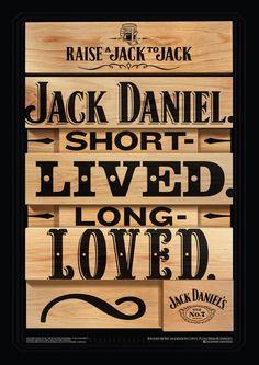jack daniels Loved Jack Daniel's : Birthdays, Loved, Legend, Unchanged