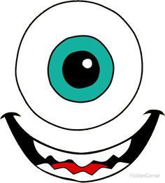 Monsters Inc Doors, Mike From Monsters Inc, Halloween Bags, Holidays Halloween, Halloween Crafts, Monster Inc Costumes, Monster Inc Party, Monster 1st Birthdays, Monster Birthday Parties