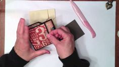 Mini Album Insert Tutorial good video, will use this to add to my minis