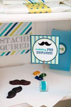 Mustache crayons #mustache #crayons