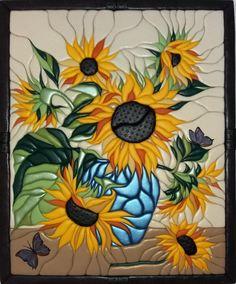 Mosaic Art, Mosaic Glass, Glass Art, Crochet Lamp, Art Deco Font, Glass Painting Designs, Cubism Art, Acrylic Art, Fabric Painting