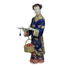 Aliexpress.com : Buy Traditional Chinese Female Statues Collectibles Hot Antique Glazed Porcelain Figurine Christmas Gifts…