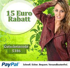 15EUR Rabatt bei Lederjacken24.de