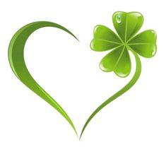 Clover Heart - Cartoon – Herz – Liebe – Love Republic regarding Ireland St Paddys Day, St Patricks Day, Saint Patricks, Image Illusion, Shamrock Tattoos, Quilled Creations, St Patrick's Day Decorations, Celtic Symbols, Irish Symbols