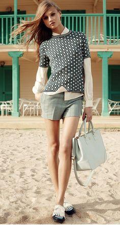 Perfect Pairing: Knits & Shorts