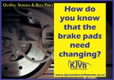 Quality Service and Best Price Brake Pads, Branches, Did You Know, Knowing You, At Least, Spaces, Metal, Space