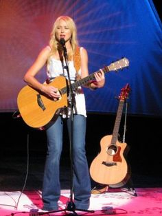 The only way to listen to Jewel, is live. I prefer her music acoustic, her albums don't do her justice!