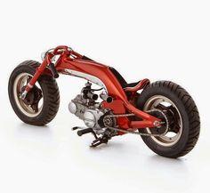 Custom Honda Monkey bike