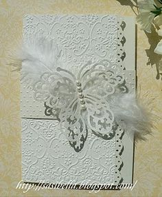 wedding card-like the scalloped edges