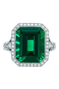 Ever+Green:+The+Return+of+the+Emerald+Engagement+Ring  - TownandCountryMag.com