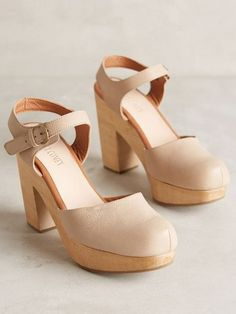 8695c6b3074e  beige ankle strap clogs  Clogs Shoes