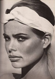 Margaux Hemingway by Francesco Scavullo, 1976 #1970s #vintage