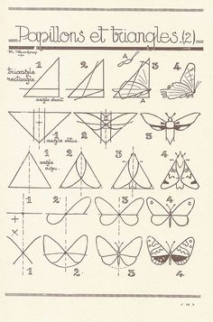 how to draw butterflies (... click for many more drawing lessons)