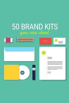 Steal These 50 Branding Kits For Your Startup. Templates for social media posts.