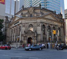 Toronto...Hockey Hall of Fame  :)