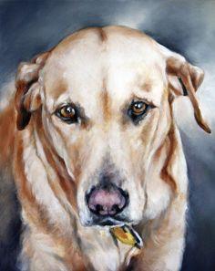 Art Oil Painting Pet Portrait Portrait Commission by cmqstudio, $115.00