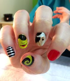 Gnarly gnails digital dozen does book week day 1 wicked gnarly gnails digital dozen does book week day 1 wicked manicure nailart illustrated nails pinterest book week wicked and manicure prinsesfo Image collections