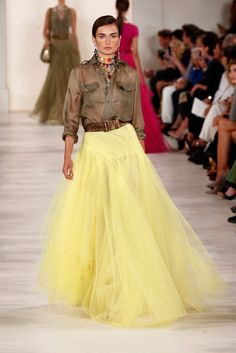 Pin for Later: 71 Iconic Runway Looks That Show the True Spirit of Ralph Lauren Spring 2015
