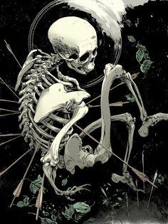 Skeletal illustrations bySeñor Salme