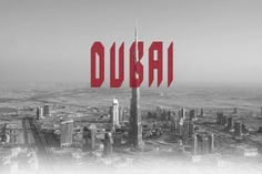Dubai typeface free demo is extra condensed display typeface. This type was made to suit current design trend and suit