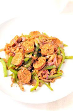 Chicken Sausage and veggie Stir Fry