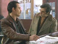 """Donnie Brasco - """"In all the five boroughs, I'm known. Forget about it. I'm known all over the fucking world."""" - Lefty #GangsterMovie #GangsterFlick"""