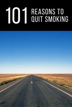 101 reasons to quit smoking www.lifeinsync.com.au