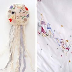 By Japanese embroidery and textile designer Kanae Entani.