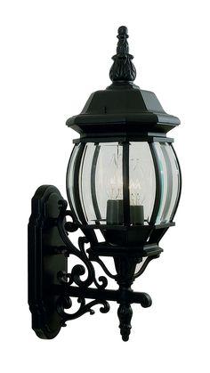 Livex Lighting 7524-04 Frontenac Wall Light Black